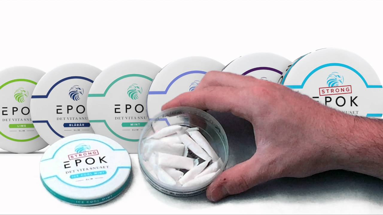 c420c020d0e5 SnusCENTRAL Epok STRONG ICE COOL MINT Snus Review - YouTube