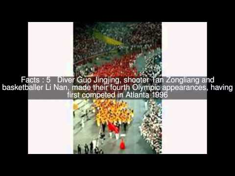 China at the 2008 Summer Olympics Top  #8 Facts