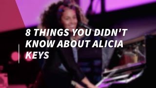 8 Things You Didn't Know About Alicia Keys