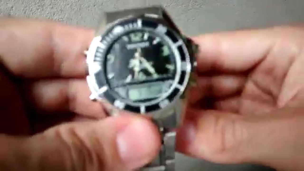 d5e945591b6 Relogio Tecnet - YouTube