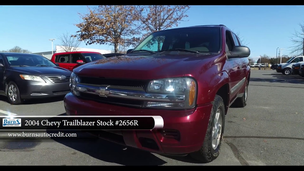 Buy Here Pay Here Rock Hill Sc >> 2004 Chevy Trailblazer Stock #2656R | Burns Buy Here Pay Here - YouTube