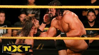Drew McIntyre vs. Adam Cole - NXT Championship Match: WWE NXT, Jan. 3, 2018