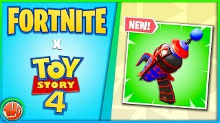 * NEW * Fortnite X Toy Story 4!! * LEAKED * Prop-Gun!! Pump comes BACK?!