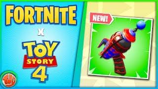 Nouveau - Fortnite X Toy Story 4!! FUITE - Prop-Gun!! Pompe vient BACK?!