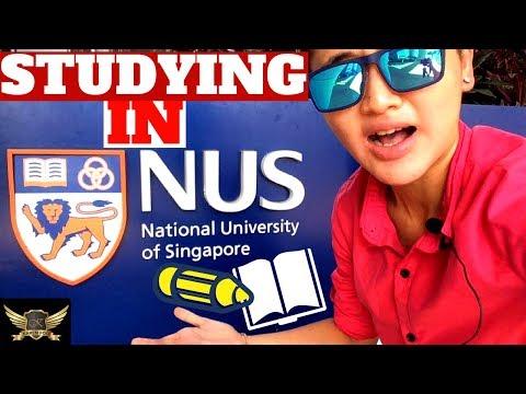 NUS SINGAPORE CAMPUS TOUR  |  HOW TO STUDY IN SINGAPORE  |  Karen Trader Vlog 028