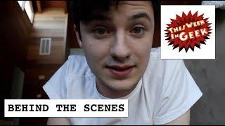 HOW DO WE MAKE VIDEOS??? This Week in Geek Vlog!