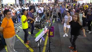 Proud Mary + Beautiful Sunday + Venus -- Ah Lam, Sunny & Samson -- Lambent樂隊170820 BN