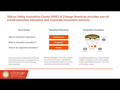 Silicon Valley Innovation Center - Change Americas