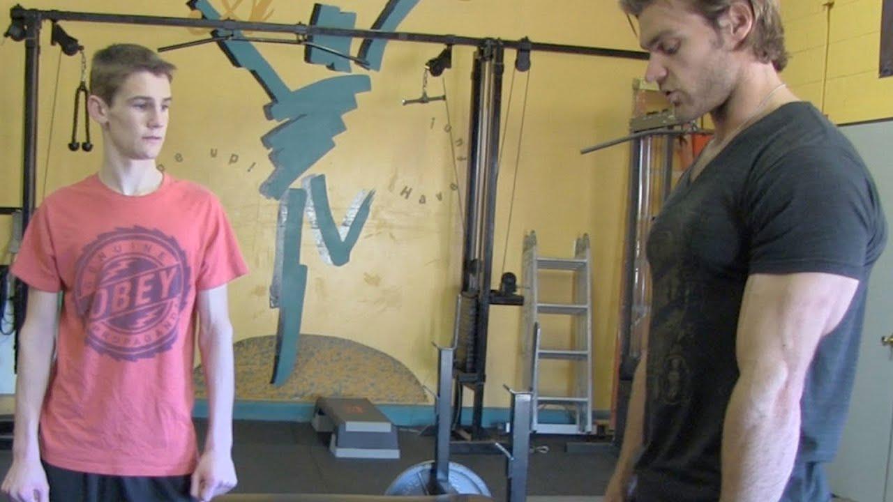 Teen Beginners Bodybuilding 5x5 Strength Program