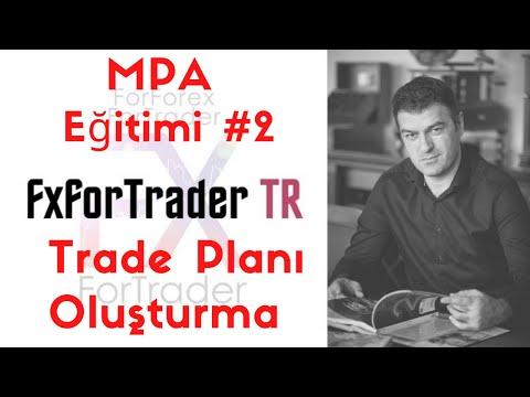 İleri Düzey Eğitimi (Piyasada Gösterilmeyen) 1- Trade Plani Olusturma/ Pro Training - Trading Plan