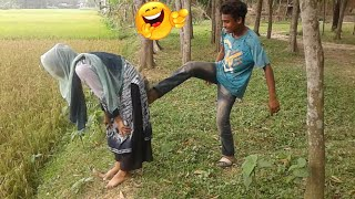 Best Entertainment😂 😂Comdey Video 2019, Try Not To HaHaHa -Episode 28 ||Famous Emon||