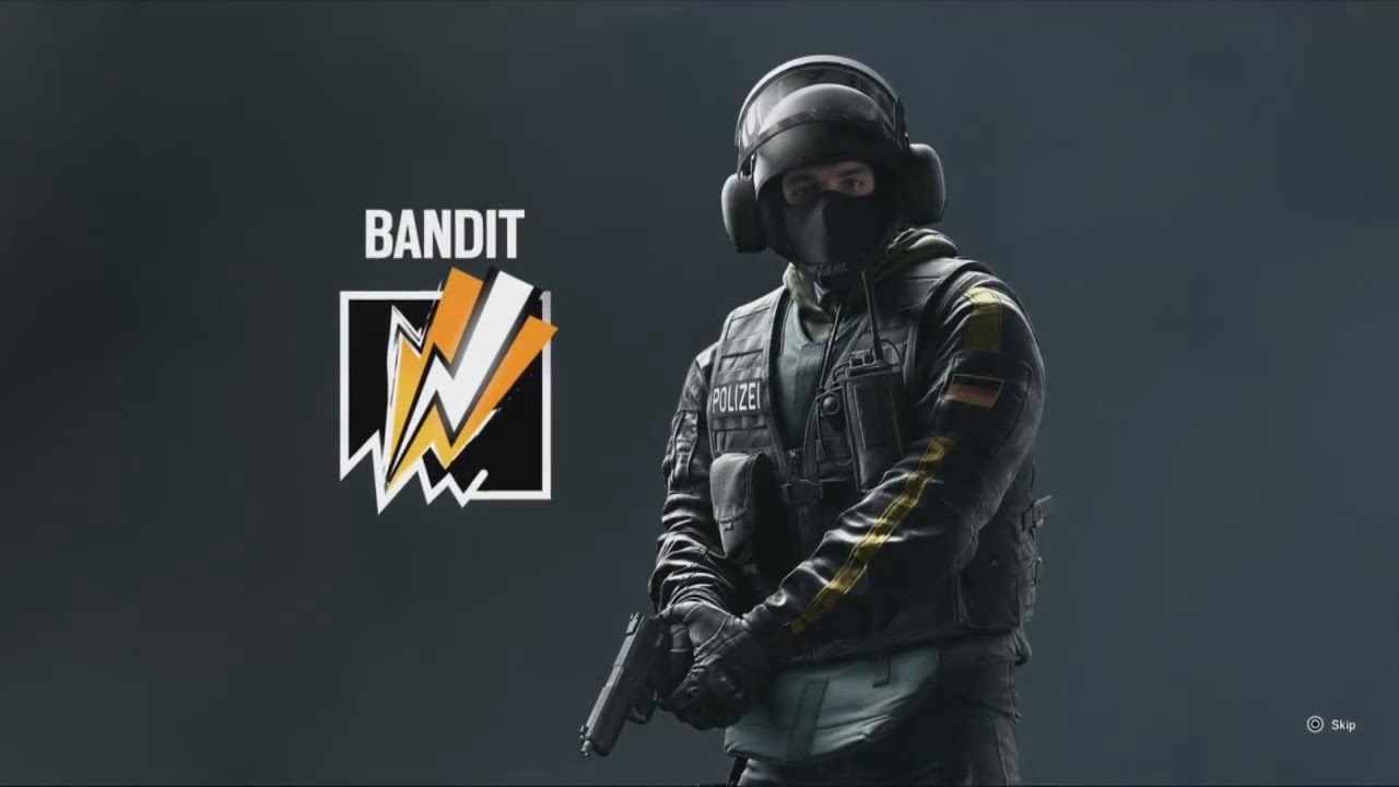 Bandit - Operator Video | Rainbow Six Siege - YouTube