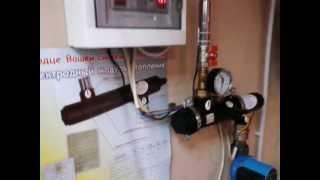 Котел электродный Китотерм в работе