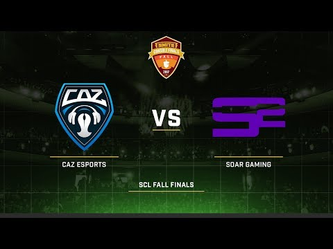 SCL Fall Finals 2017 Group A CAZ Esports vs Soar Gaming Game 1