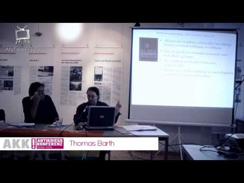Thomas Barth: Die Privatisierung der Kriege u. Blackwater ll Antikriegskonferenz Berlin2014