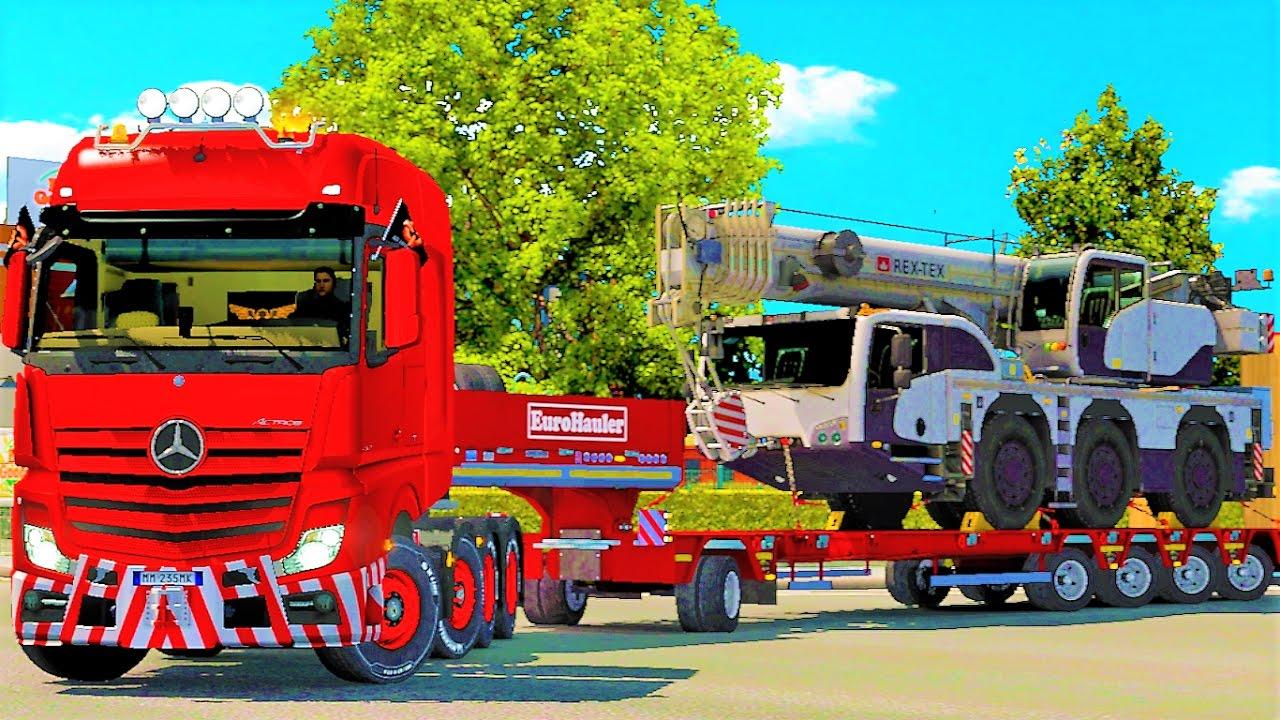 euro truck simulator 2 heavy cargo pack dlc giveaway. Black Bedroom Furniture Sets. Home Design Ideas