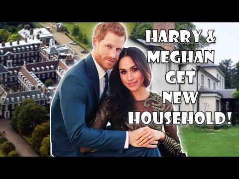 Buckingham Palace CONFIRM Duke & Duchess Of Sussex Get NEW HOUSEHOLD In Kensington Palace Split!