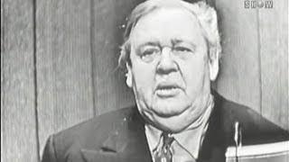 What's My Line? - Charles Laughton; Burgess Meredith [panel] (Nov 25, 1956)