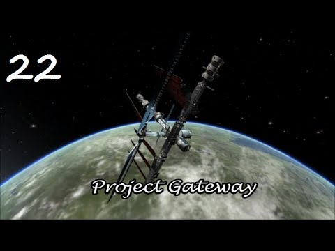 KSS-22: Harmony / Project Gateway / Kerbal Space Program 0.23