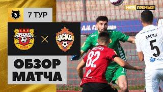 12 09 2021 Арсенал ЦСКА Обзор матча