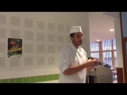 Reportage sur le restaurant scolaire du collège Rouget de Lisle