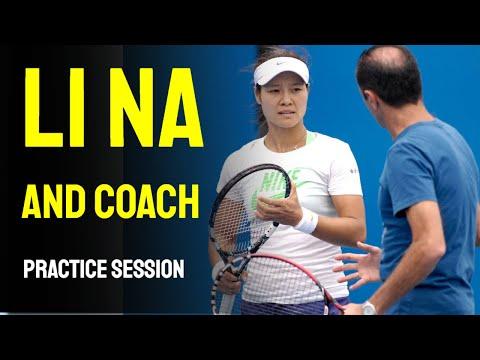 Li Na and Coach
