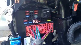 chevy cobalt 2004-2010 fuse box location - youtube  youtube