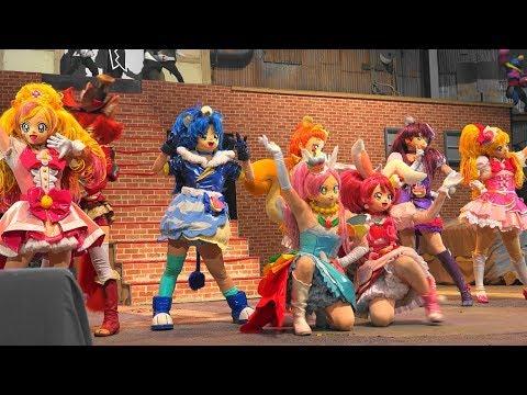 キラキラ☆プリキュアアラモードアクションミュージカルショー キュアフローラ キュアミラクル登場 kirakira precure a la mode show