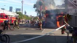 Fast response from Toronto Fire