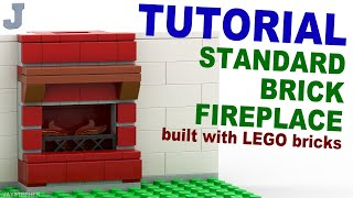 Tutorial - Standard Brick Fireplace [cc]
