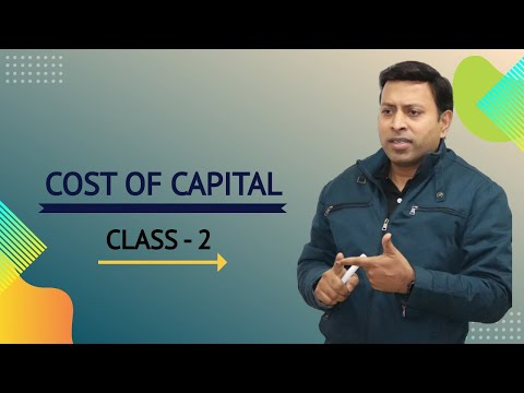 Cost of capital class 2