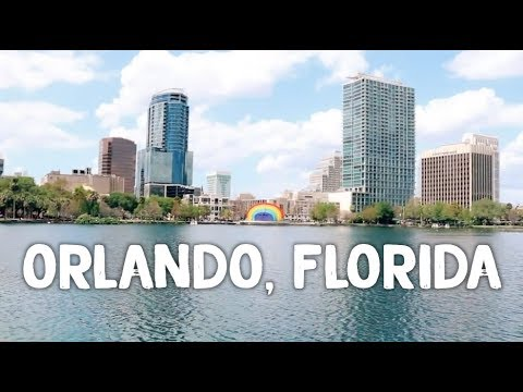 A lovely weekend in Downtown Orlando Florida 😀 - USA travel vlog 🌎