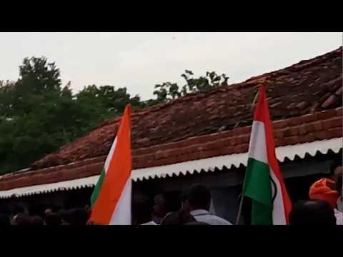 Saheed shakti singh ka anteem sanskar, baramula jammu saheed shakti singh ambatari chatra jharkhand