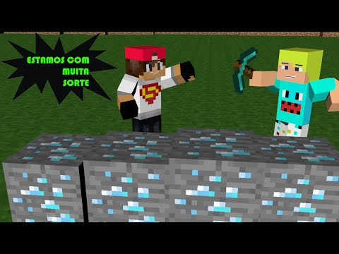 SkyWars Com Lucky Block e Asa Delta