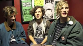 Kids Interview Bands Sun Club