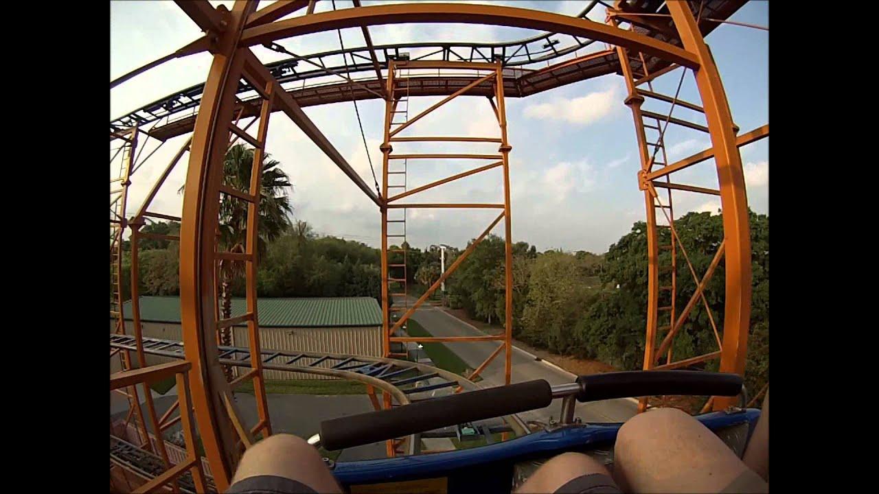 Sand Serpent POV - Busch Gardens Tampa - YouTube