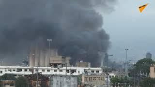 LIVE: Последствия взрыва в Бейруте