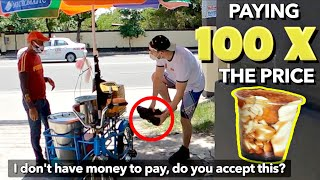 "Buying Lolo's TAHO 100x the Price! 👌""WALANG PAMBAYAD"" Prank 🇵🇭"