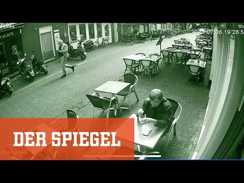 Kriminalreporter Peter R. de Vries: Überwachungsvideo zeigt die Sekunden vor dem Attentat