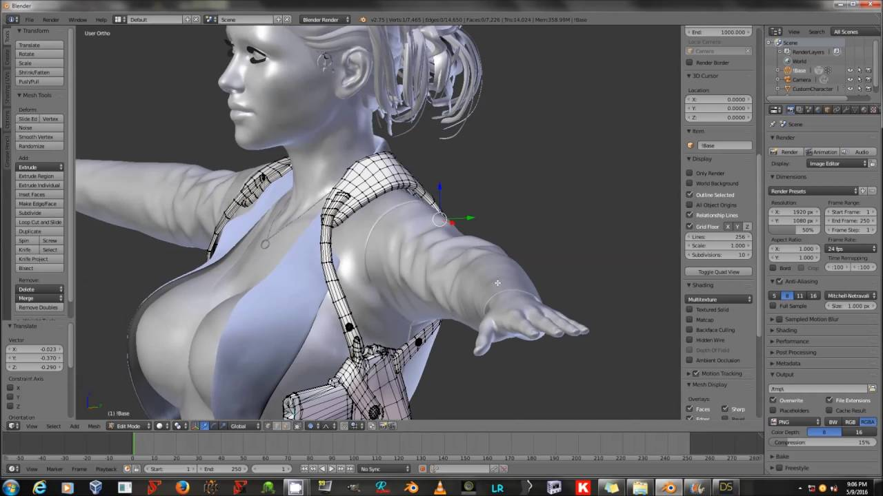 Creating Clothing Morphs With Blender and Daz Studio