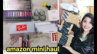 amazon makeup haul    ray ban sunglasses    shy styles