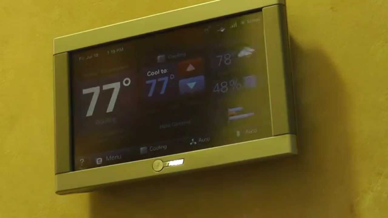 trane xl824. trane comfortlink ii thermostat user review \u0026 overview-energy savings - youtube trane xl824