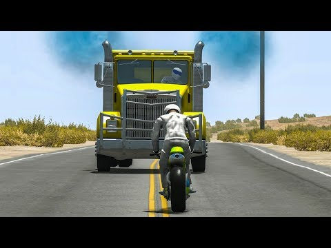 BeamNG Drive Crashes - WILL IT STILL DRIVE? #27