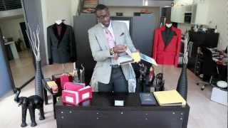 JFé Tv: The Haberdasher Episode 1: How To Select Fabric