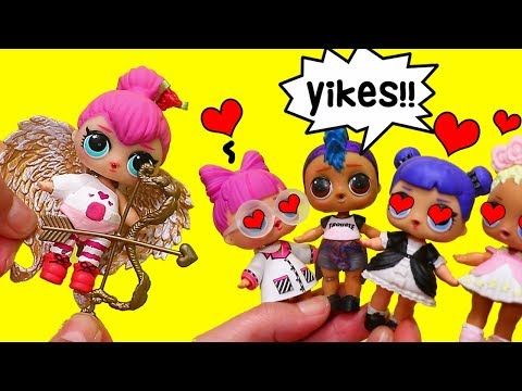 LOL Families ! Spice Plays a Cupid Prank on Punk Boi ! Toys and Dolls Fun for Kids  SWTAD
