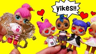 SWTAD LOL Families ! Spice Plays a Cupid Prank on Punk Boi ! Toys and Dolls Fun for Kids
