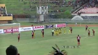Video Gol Pertandingan Persipura Jayapura vs Persiba Balikpapan