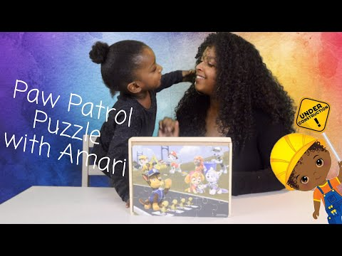 Paw Patrol Puzzle Jigsaw Kids Toy Review Puzzle Game For Children