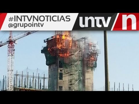 Se incendian las nuevas oficinas del bbva en sanchinarro for Oficinas bbva madrid capital