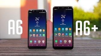 Review: Samsung Galaxy A6 & A6+ (Deutsch) | SwagTab